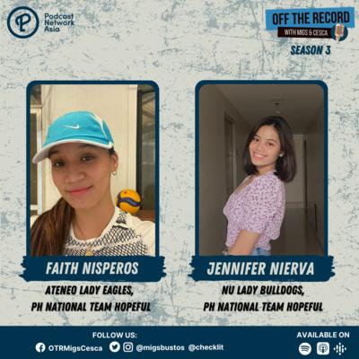 S03E07 (Part 2): Faith Nisperos & Jennifer Nierva