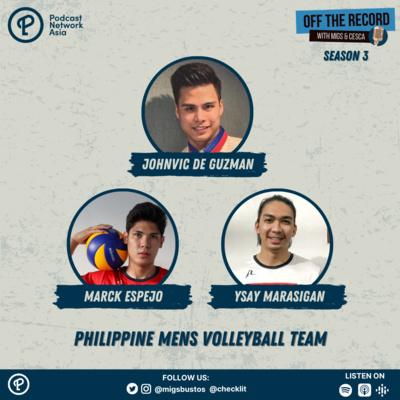 S3E10 (Part 1): John Vic De Guzman, Ysay Marasigan & Marck Espejo
