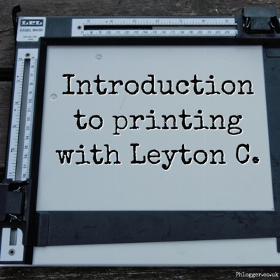 Introduction to printing with Leyton Cleveley