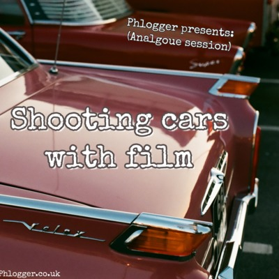 Shooting cars with film
