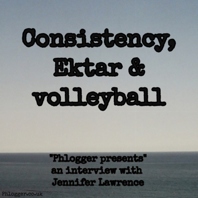 Consistency, Ektar & volleyball (interview with Jennifer Lawrence)