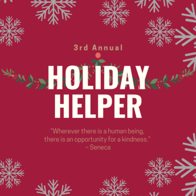 3rd Annual Holiday Helper