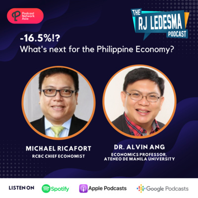 Ep. 2: -16.5!? What's Next for the Philippine Economy? | Michael Ricafort and Dr. Alvin P. Ang