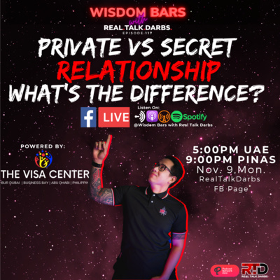 PRIVATE VS SECRET RELATIONSHIP, WHAT'S THE DIFFERENCE?