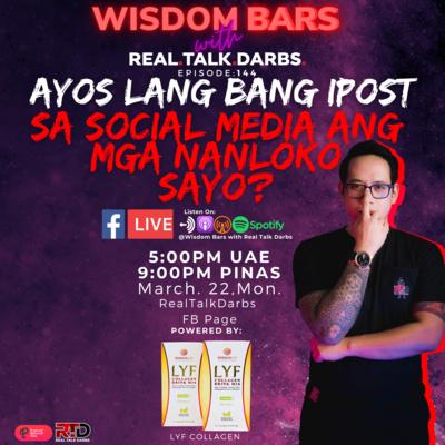 OK LANG BANG IPOST SA SOCIAL MEDIA ANG MGA TAONG NANLOKO SAYO?