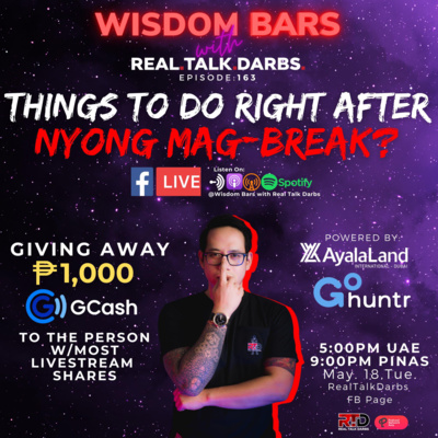 THINGS TO DO RIGHT AFTER NYONG MAG-BREAK?