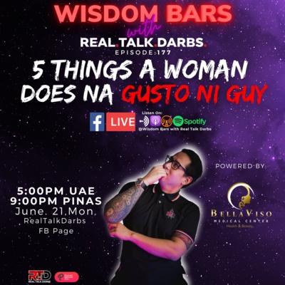 5 THINGS A WOMAN DOES NA GUSTO NI GUY