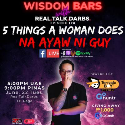 5 THINGS A WOMAN DOES NA AYAW NI GUY