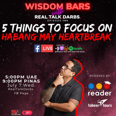 5 THINGS TO FOCUS ON HABANG MAY HEARTBREAK