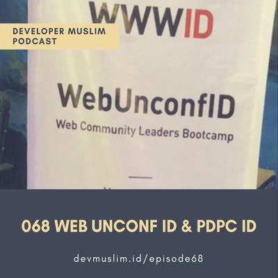 068 Web Unconf ID 2018 & PDPC ID