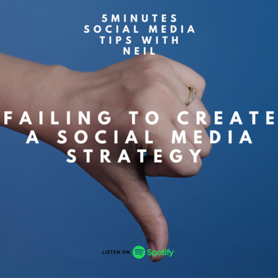 Episode 24 - Failing to Create A Social Media Strategy