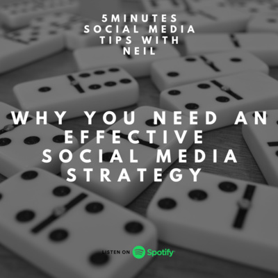 Episode 25 - Why You Need An Effective Social Media Strategy