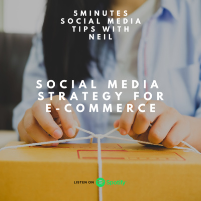 Episode 38 - Social Media Strategy for E-Commerce