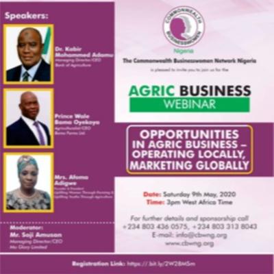 CBWN Nigeria Agric Business Webinar