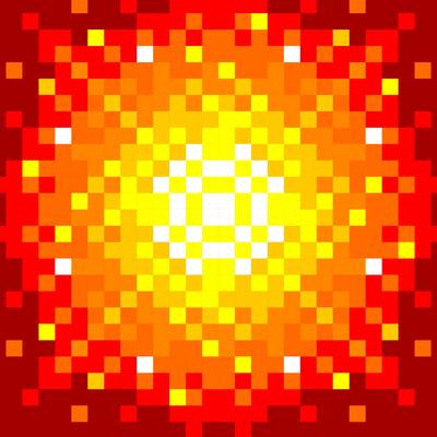 Pixels en Feu