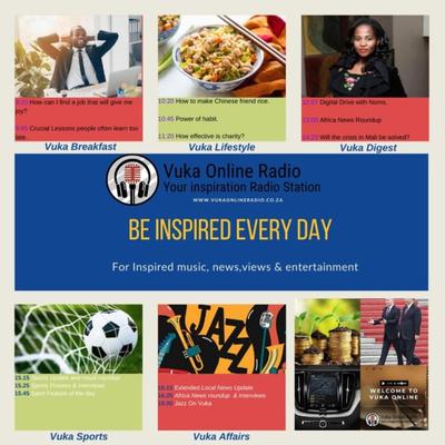 Vuka Online Radio Podcasts