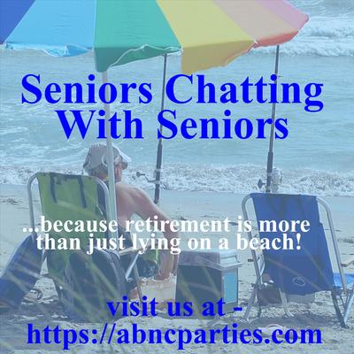 Seniors Chatting With Seniors