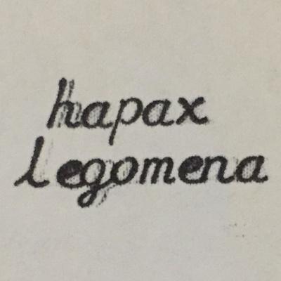 Hapax Legomena