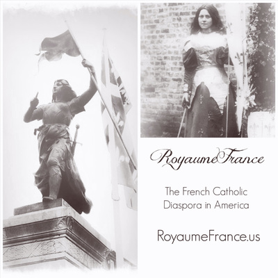 Royaume France of St. Joan of Arc and St. Thérèse