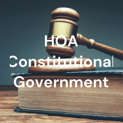 HOA Constitutional Government
