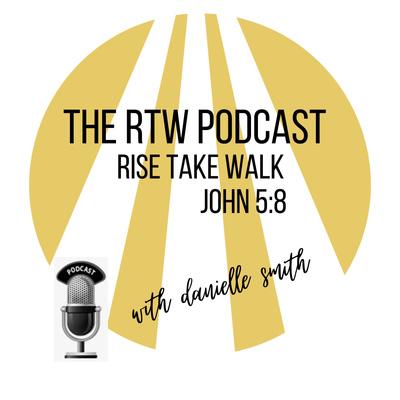 """Rise Take Walk with Danielle """"Ms. Lady D."""" Smith (John 5:8)"""