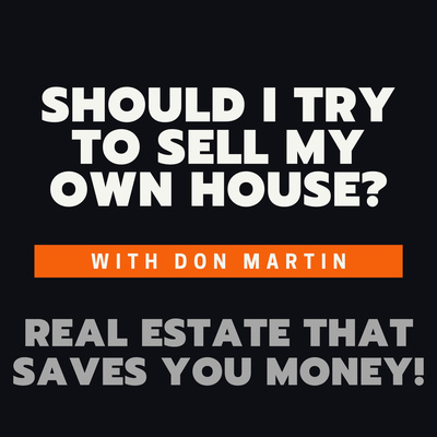 Should I try to sell my own house?