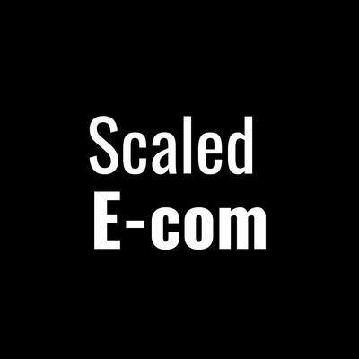 Scaled Ecommerce