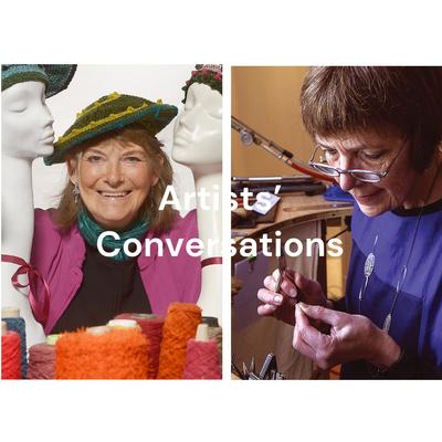 Artists' Conversations: Kay Ribbens (textiles) and Natalie Vardey ( jewellery)
