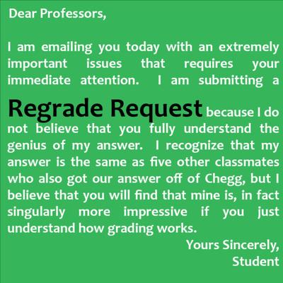 Regrade Request