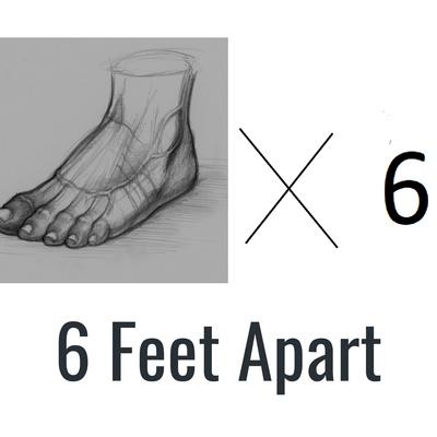 6 Feet Apart