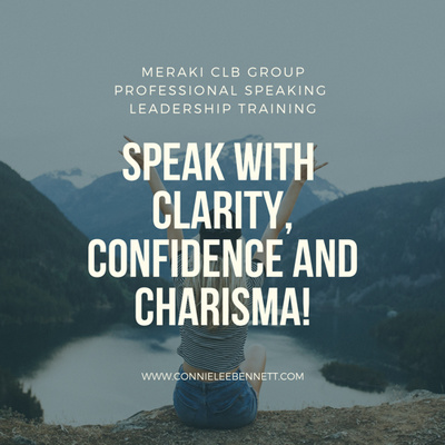 Speak with Clarity, Confidence and Charisma