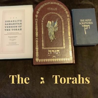 The 3 Torah's