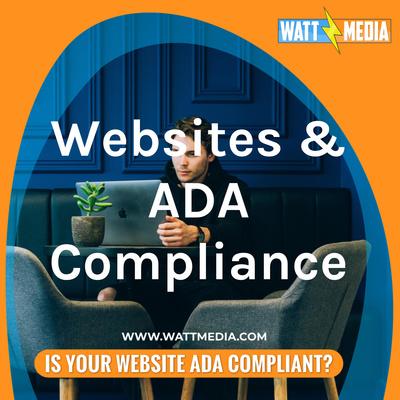 Websites & ADA Compliance