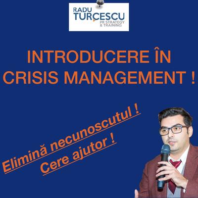 Introducere În Crisis Management by Radu Turcescu