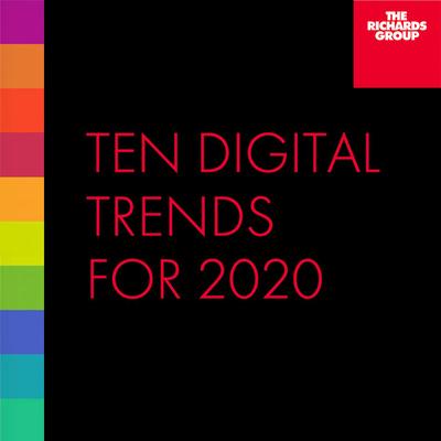 Ten Digital Trends for 2020