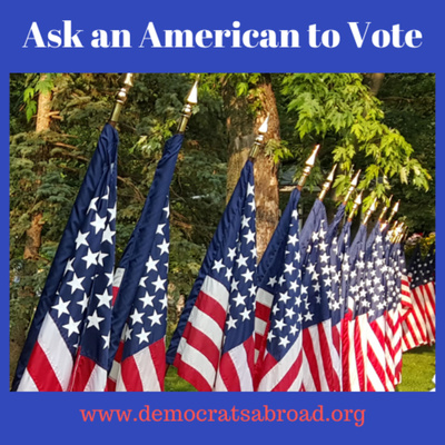 Ask An American To Vote