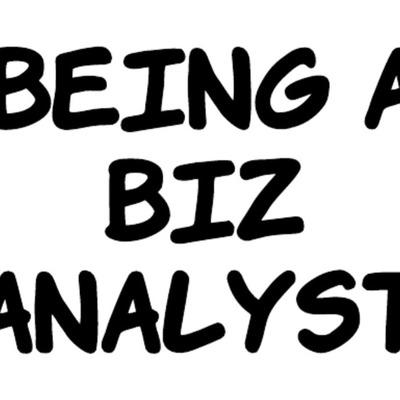 Being a Biz Analyst