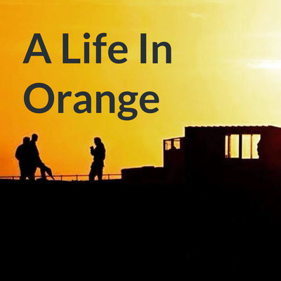 Podcast In Orange