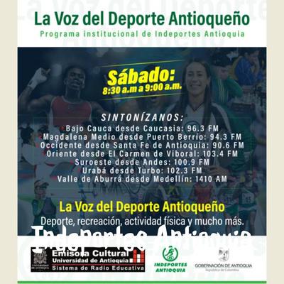 Indeportes Antioquia - Radio