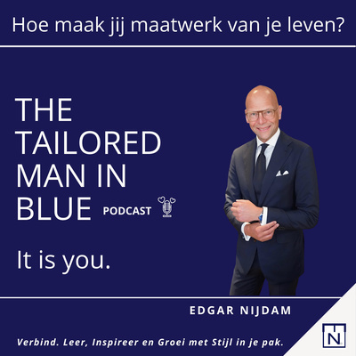 The Tailored Man in Blue. It is you!