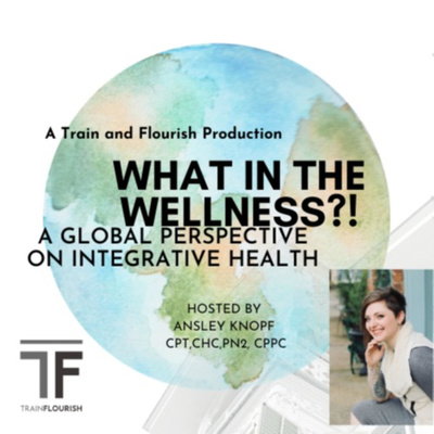 """""""What In The Wellness?!"""" A global perspective on integrative health &wellness Hosted by Ansley Knopf"""