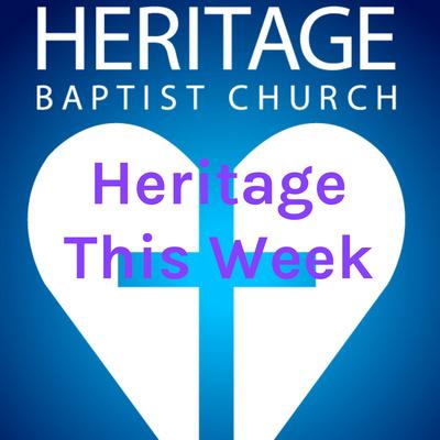 Heritage This Week
