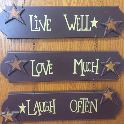 The Live Well, Love Much, Laugh Often Show