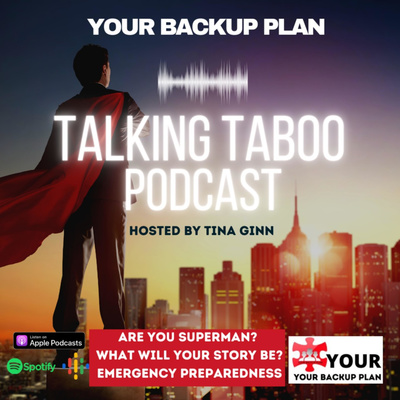 YOUR BACKUP PLAN APP HOSTS TALKING TABOO with Tina Ginn
