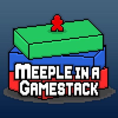 Meeple in a Gamestack