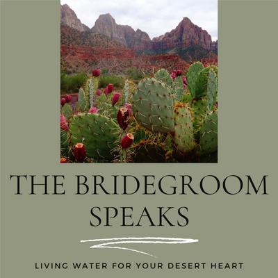 The Bridegroom Speaks...Living Water for your desert heart.