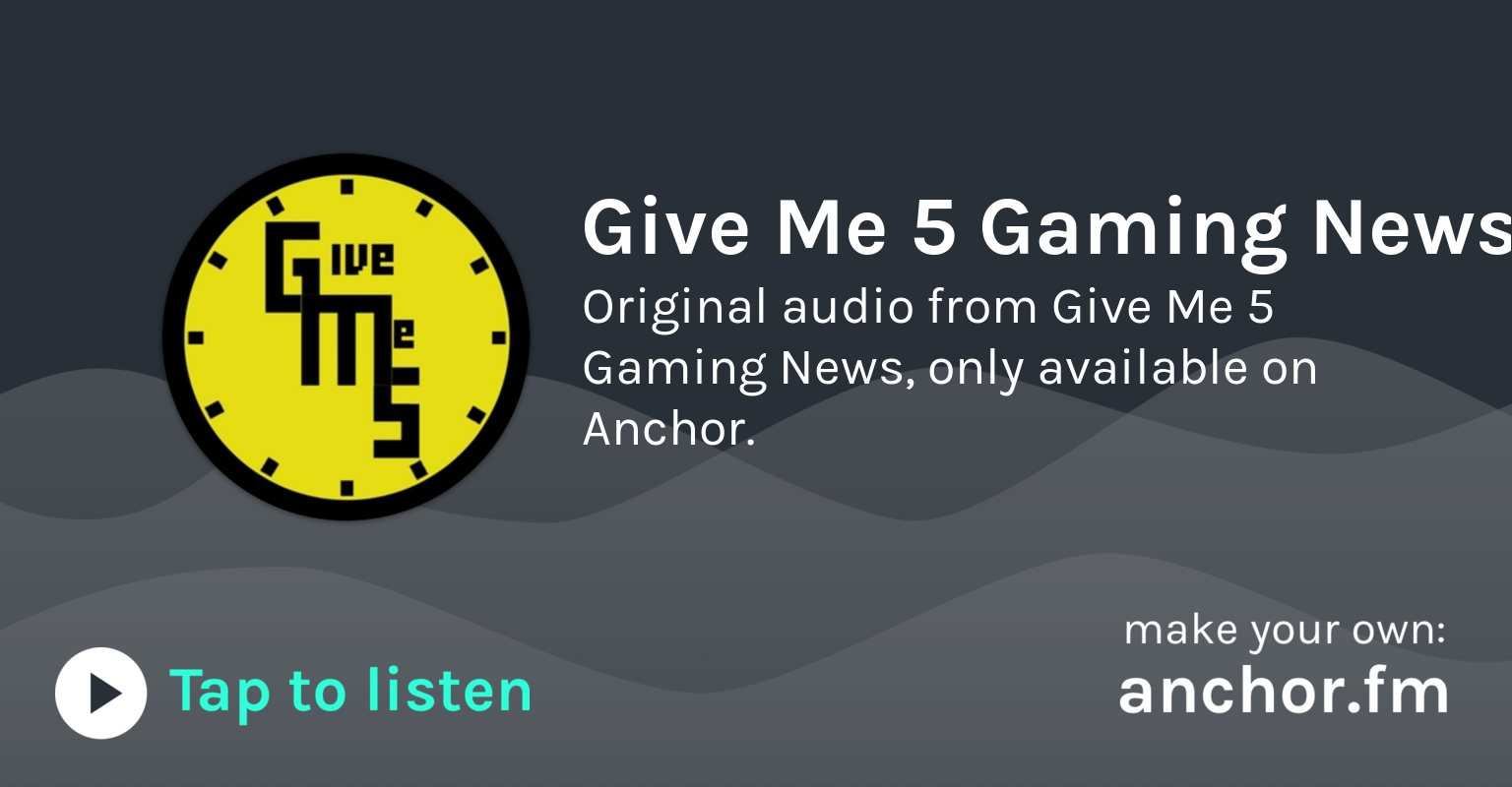 EA Gives In & Golden Joystick by Give Me 5: The Facts • A podcast on