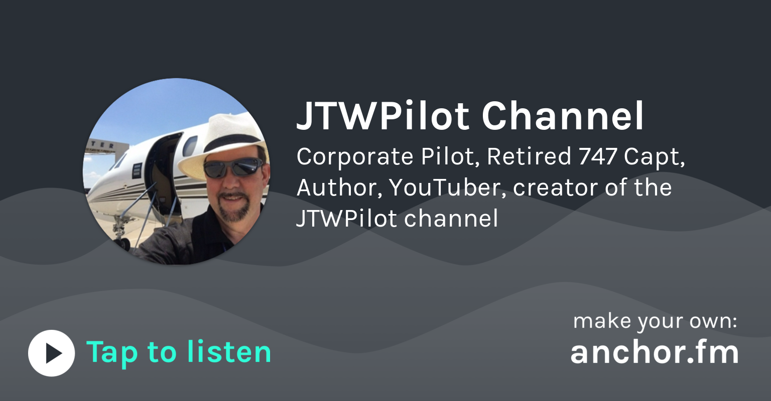 What's it like to fly the 747 jumbo jet by JTWPilot Channel | Anchor - Radio, reinvented