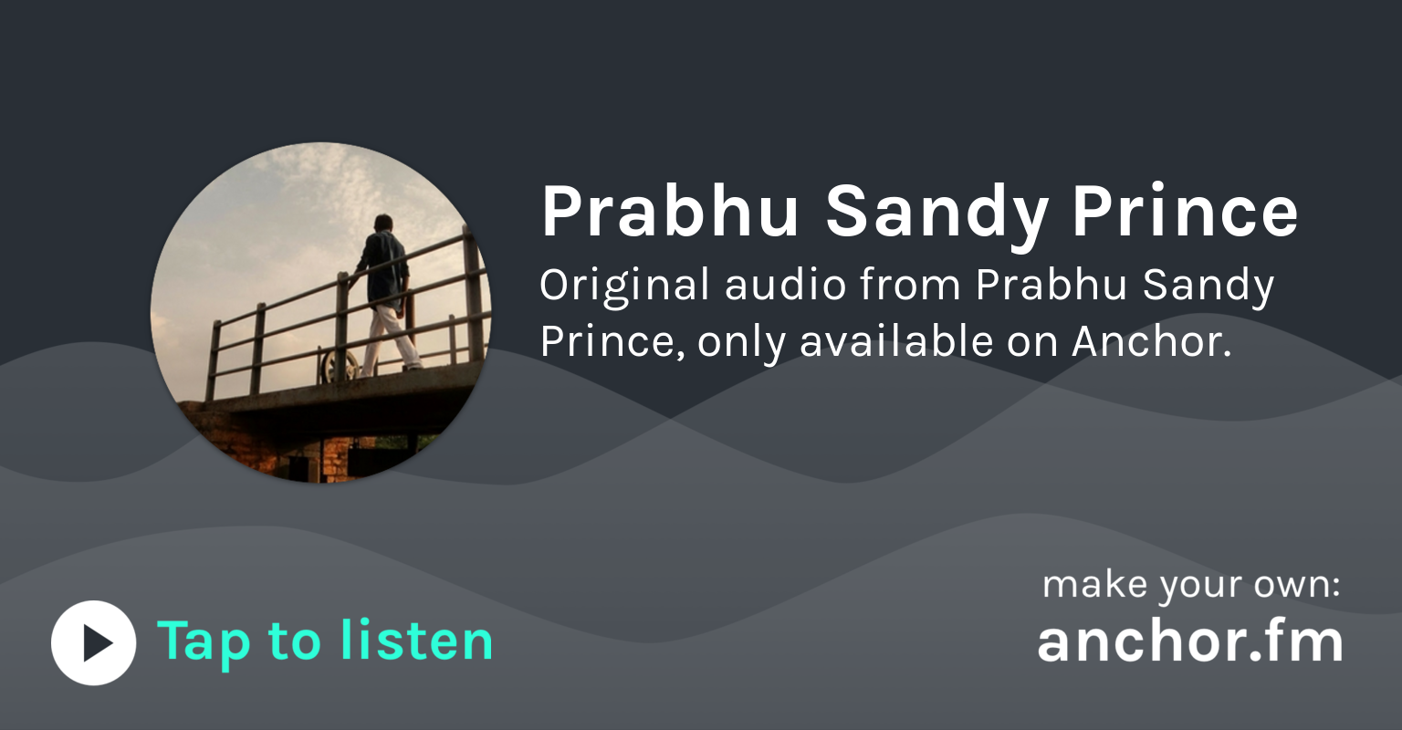 Introducing The Young King Show by Prabhu Sandy Prince  by