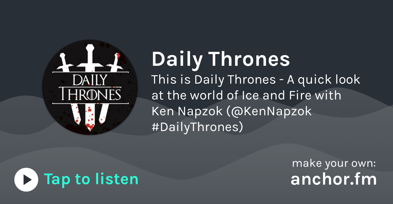 Tywin's jealousy of Tyrion - Daily Thrones - EP 124 by
